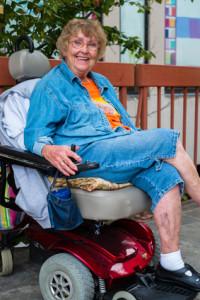 Elektrischer Rollstühle